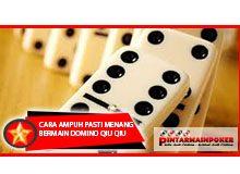 Cara Ampuh Pasti Menang Bermain Domino Qiu Qiu