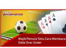 Wajib Pemula Tahu Cara Membaca Odds Over Under